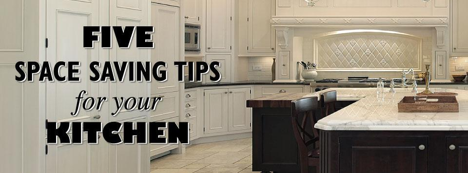 Space Saving Tips for Your Kitchen