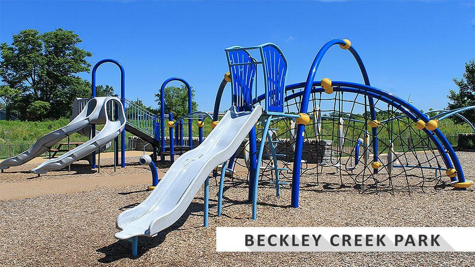 Playground at Beckley Creek Park at the Parklands