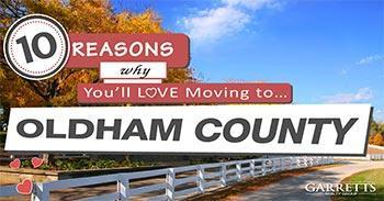 Moving to Oldham County KY Blog Post