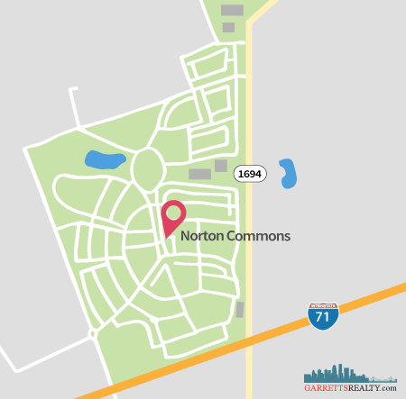 Norton Commons Map
