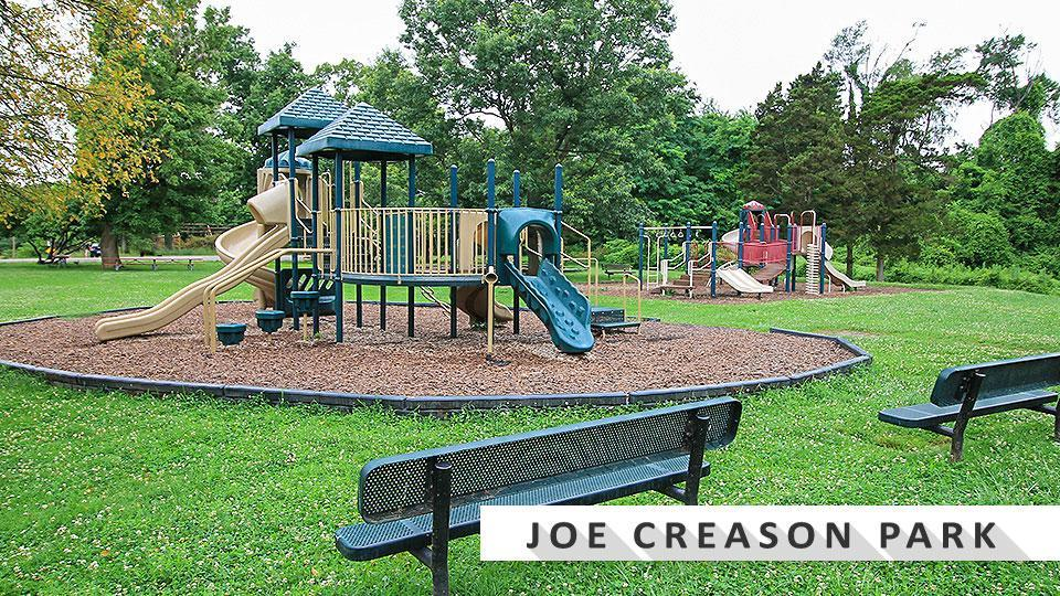 Joe Creason park playground located by the Louisville Zoo.