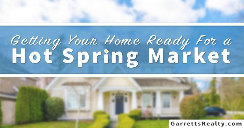 Top ten tips for selling your home in the Spring.