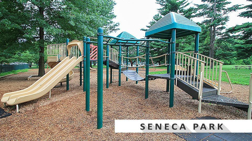 Seneca Park playground near St Mathews.