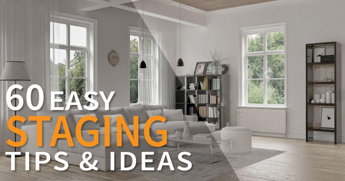 Staging a home 60 easy to follow tips ideas infographic for Tips on staging your home