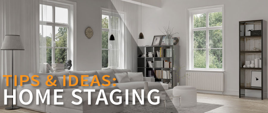 How to stage a home - tips & ideas.