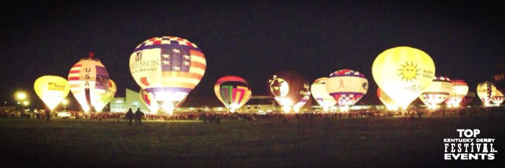 Kentucky Derby Balloon Glow