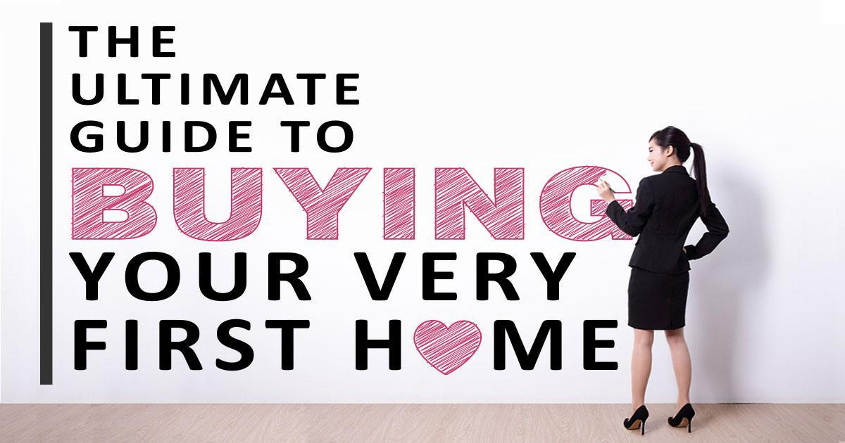 Header image to Buying your first house article.