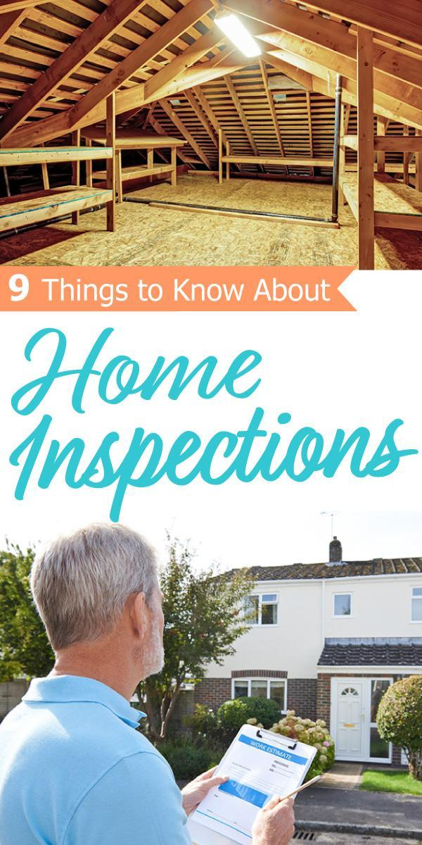Easy to follow tips for Home Inspections.