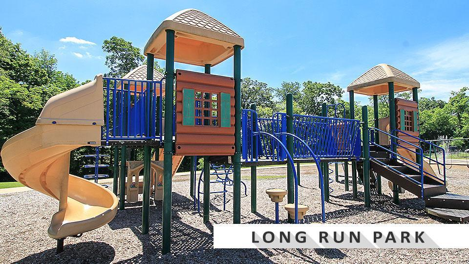 Long RunPark playground in the east end of Louisville.