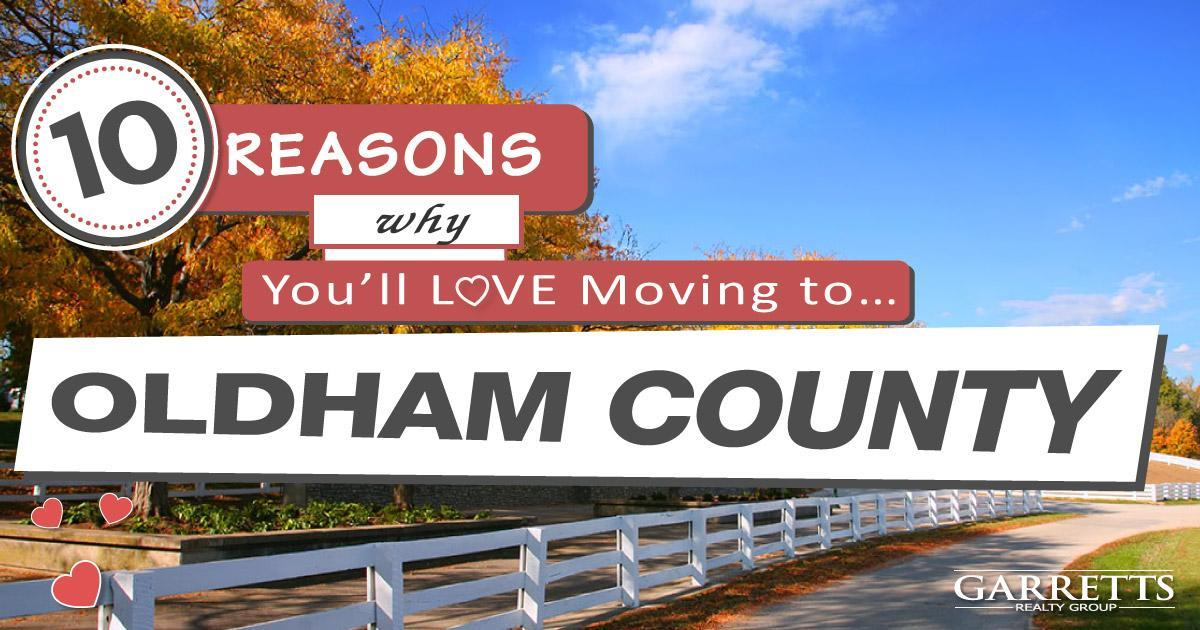 Moving To Oldham County Ky 10 Reasons Why You Ll Love