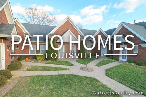 Patio homes Louisville KY