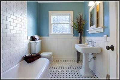 Tips for staging a bathroom