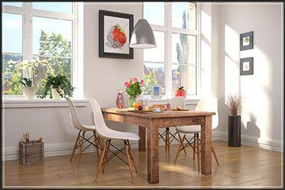 How to stage dining room tips